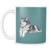Alaskan Malamute Dog Mugs & Coffee Cups - Alaskan Malamute Coffee Mugs - TeeAmazing