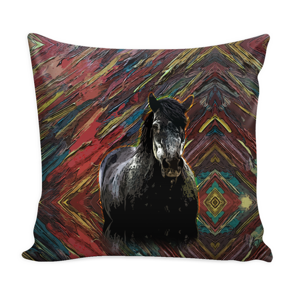Horse Pillow Cover - Horse Accessories - TeeAmazing