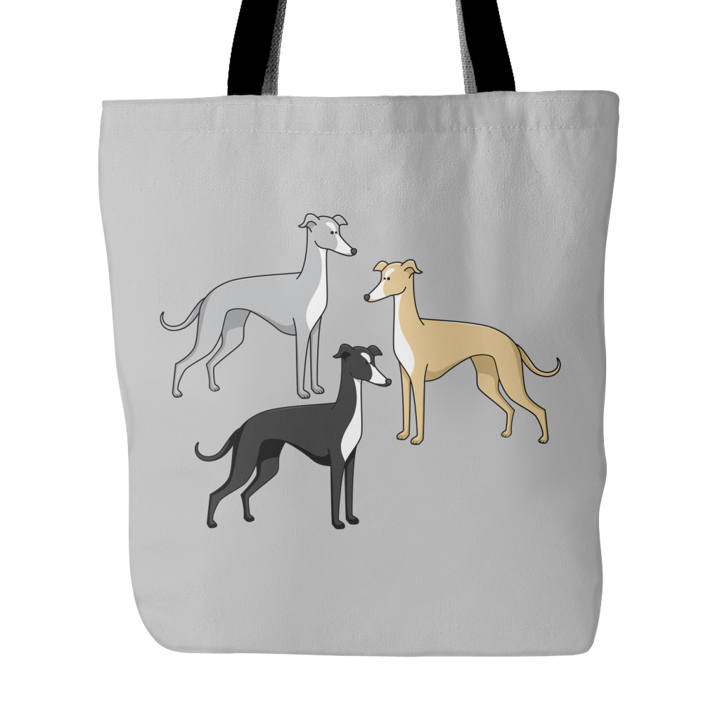 Greyhound Dog Tote Bags - Greyhound Bags - TeeAmazing