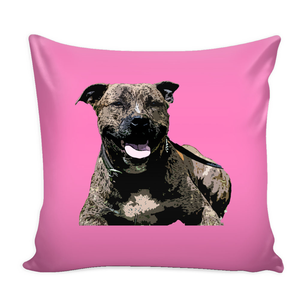 Staffordshire Bull Terrier Dog Pillow Cover - Staffordshire Bull Terrier Accessories - TeeAmazing - 4