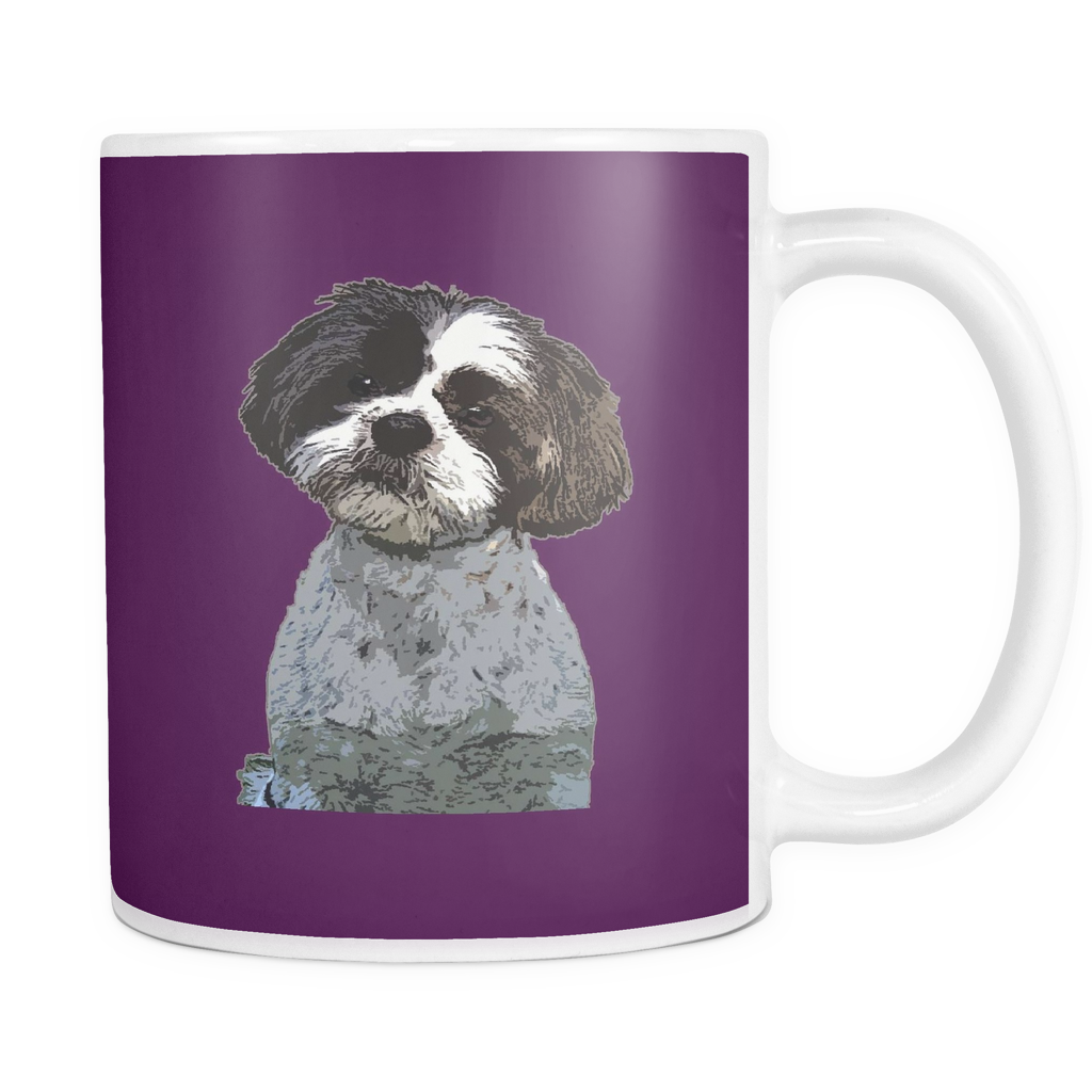 Shih Tzu Dog Mugs & Coffee Cups - Shih Tzu Coffee Mugs - TeeAmazing