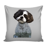 Shih Tzu Dog Pillow Cover - Shih Tzu Accessories - TeeAmazing - 1