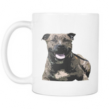 Staffordshire Bull Terrier Dog Mugs & Coffee Cups - Staffordshire Bull Terrier Coffee Mugs - TeeAmazing - 2
