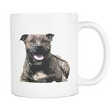 Staffordshire Bull Terrier Dog Mugs & Coffee Cups - Staffordshire Bull Terrier Coffee Mugs - TeeAmazing - 1