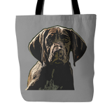German Shorthaired Pointer Dog Tote Bags - German Shorthaired Pointer Bags - TeeAmazing - 2