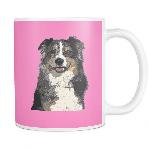 Australian Shepherd Dog Mugs & Coffee Cups - Australian Shepherd Coffee Mugs - TeeAmazing