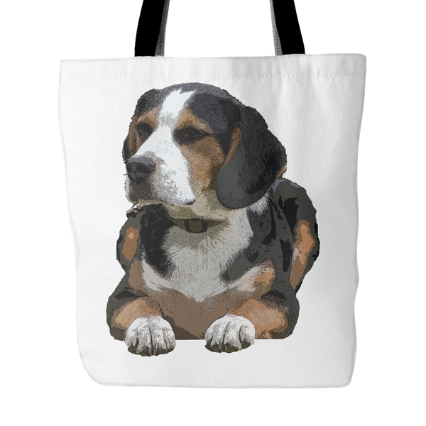 Painting Beagle Dog Tote Bags - Beagle Bags - TeeAmazing - 3