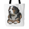 Painting Beagle Dog Tote Bags - Beagle Bags - TeeAmazing - 2