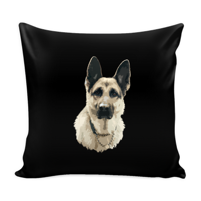 German Shepherd Dog Pillow Cover - German Shepherd Accessories - TeeAmazing