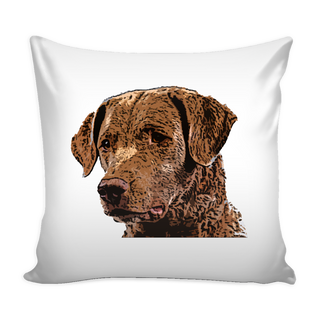 Chesapeake Bay Retriever Dog Pillow Cover - Chesapeake Bay Retriever Accessories - TeeAmazing - 1