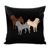Shar Pei Dog Pillow Cover - Shar Pei Accessories - TeeAmazing - 2
