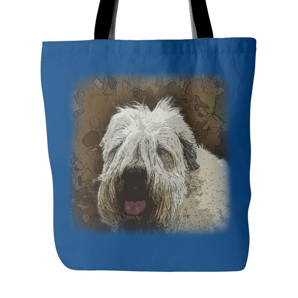 Soft Coated Wheaten Terrier Dog Tote Bags - Soft Coated Wheaten Terrier Bags - TeeAmazing - 3