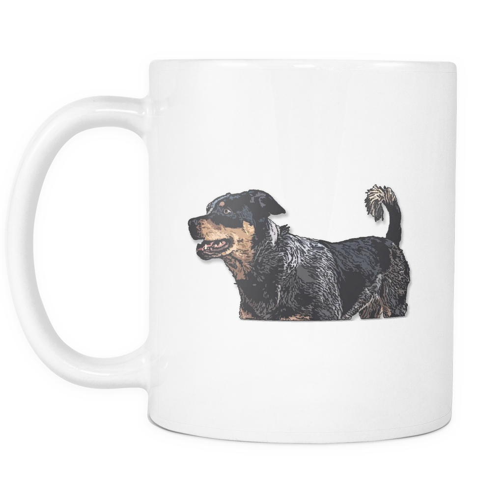 Australian Cattle Dog Mugs & Coffee Cups - Australian Cattle Coffee Mugs - TeeAmazing