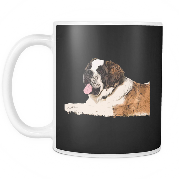 St. Bernard Dog Mugs & Coffee Cups - St. Bernard Coffee Mugs - TeeAmazing - 4