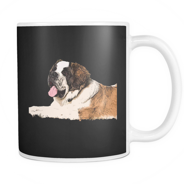 St. Bernard Dog Mugs & Coffee Cups - St. Bernard Coffee Mugs - TeeAmazing - 3