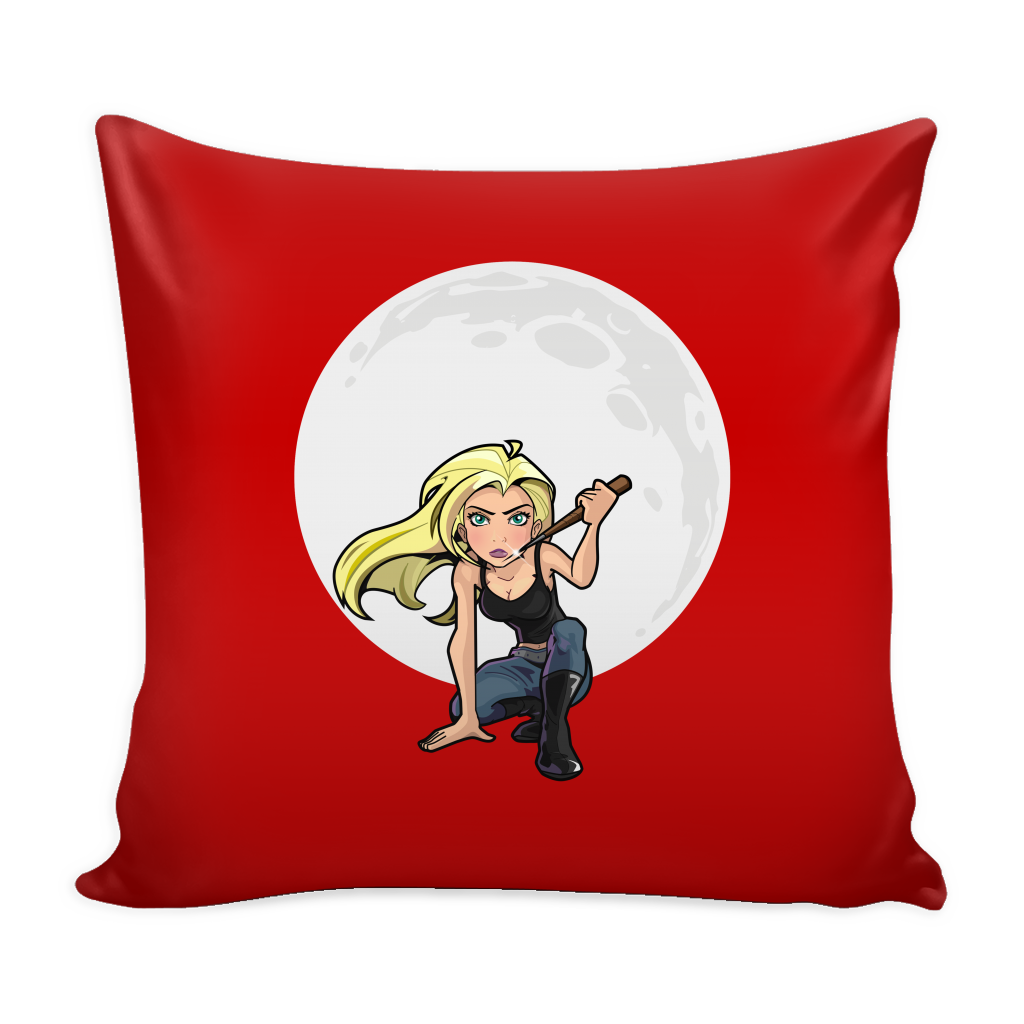 The Slayer Pillow Cover Accessories - TeeAmazing