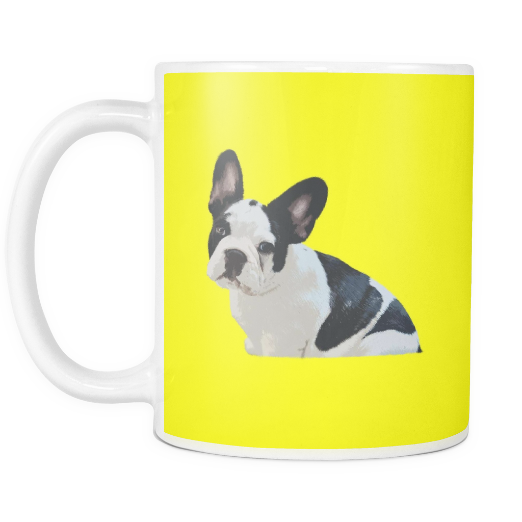 French Bulldog Dog Mugs & Coffee Cups - French Bulldog Coffee Mugs - TeeAmazing