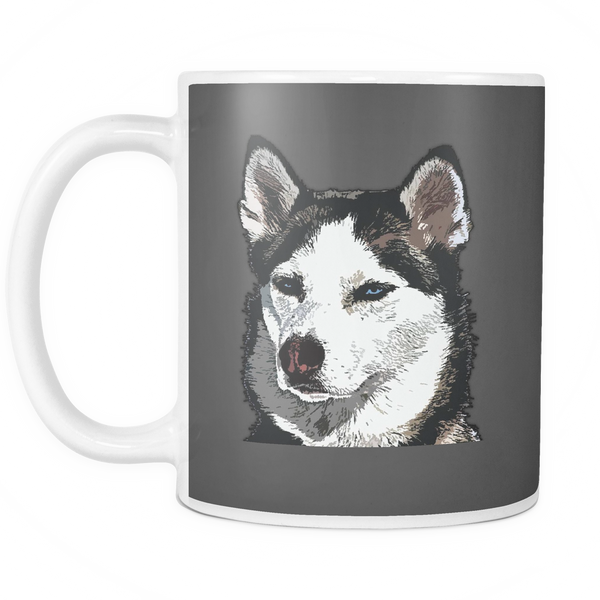 Siberian Husky Dog Mugs & Coffee Cups - Siberian Husky Coffee Mugs - TeeAmazing - 8