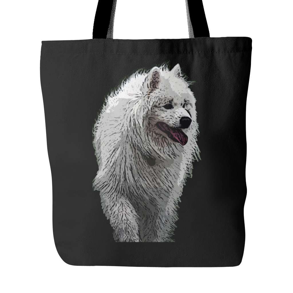 Samoyed Dog Tote Bags - Samoyed Bags - TeeAmazing