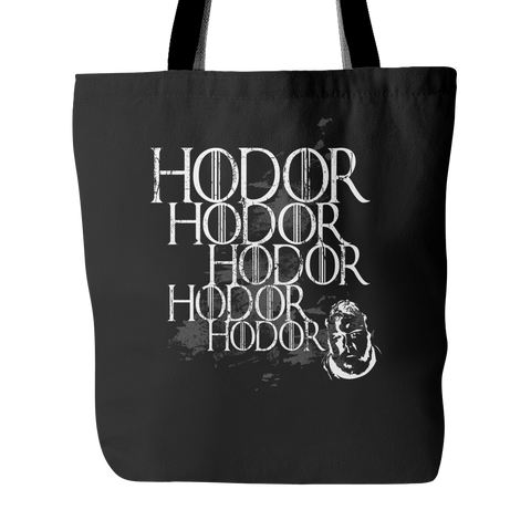 Hodor Tote Bags - Game of Thrones Bags - TeeAmazing