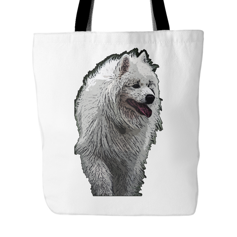Samoyed Dog Tote Bags - Samoyed Bags - TeeAmazing - 1