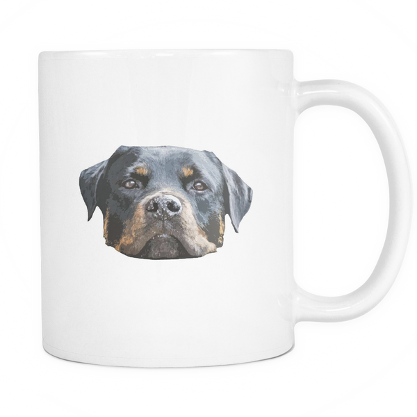 Rottweiler Dog Mugs & Coffee Cups - Rottweiler Coffee Mugs - TeeAmazing - 1