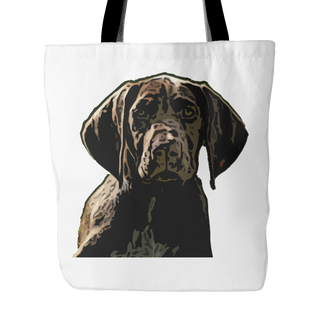 German Shorthaired Pointer Dog Tote Bags - German Shorthaired Pointer Bags - TeeAmazing