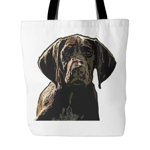 German Shorthaired Pointer Dog Tote Bags - German Shorthaired Pointer Bags - TeeAmazing - 1