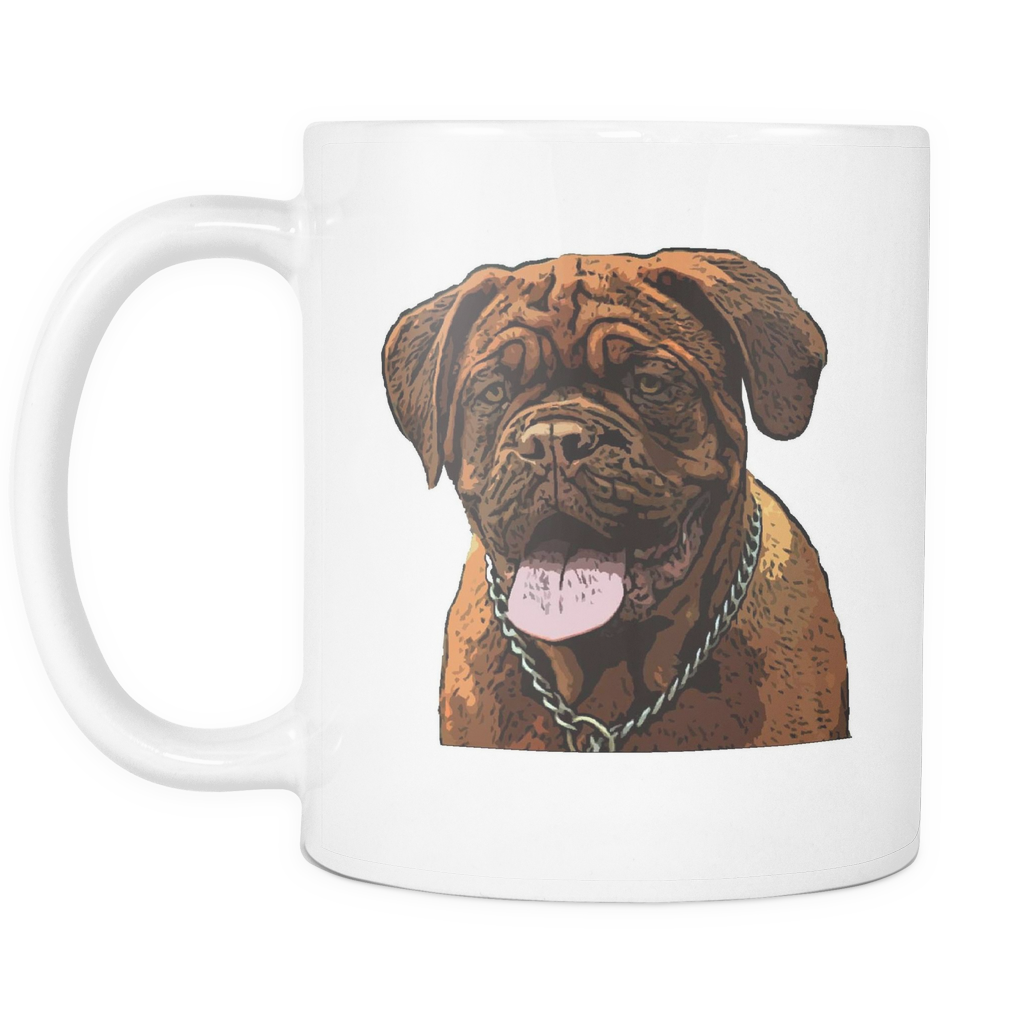 Dogues de Bordeaux Dog Mugs & Coffee Cups - Dogues de Bordeaux Coffee Mugs - TeeAmazing - 2