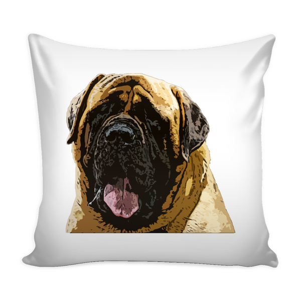 English Mastiff Dog Pillow Cover - English Mastiff Accessories - TeeAmazing - 1