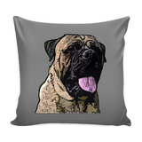 Bullmastiff Dog Pillow Cover - Bullmastiff Accessories - TeeAmazing