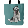 Old English Sheepdog Dog Tote Bags - Old English Sheepdog Bags - TeeAmazing - 3