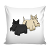 Scottish Terrier Dog Pillow Cover - Scottish Terrier Accessories - TeeAmazing - 1