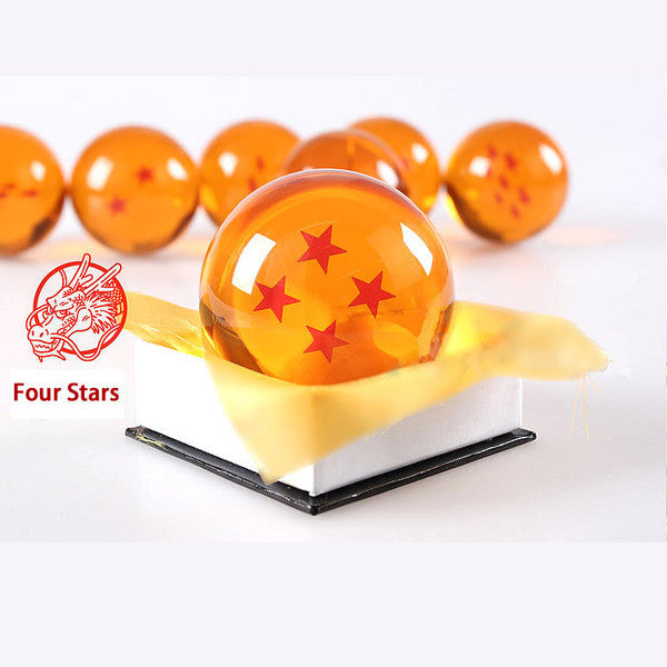 Dragon Ball Z 1-7 Star Medium Size 1pcs Crystal Dragon Ball Rubber Material - TeeAmazing - 6