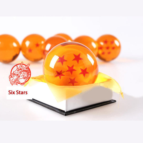 Dragon Ball Z 1-7 Star Medium Size 1pcs Crystal Dragon Ball Rubber Material - TeeAmazing - 8