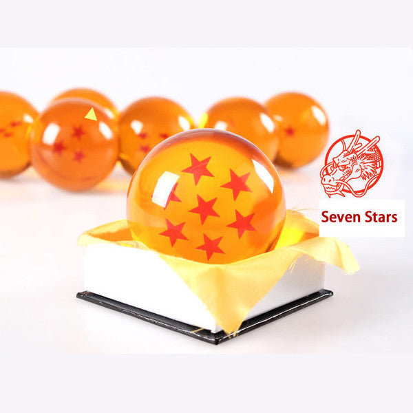Dragon Ball Z 1-7 Star Medium Size 1pcs Crystal Dragon Ball Rubber Material - TeeAmazing - 9
