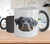 Rottweiler Dog Color Changing Mugs & Coffee Cups - Rottweiler Coffee Mugs