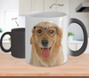 Golden Retriever Dog Color Changing Mugs & Coffee Cups - Golden Retriever Coffee Mugs - TeeAmazing - 1