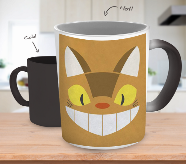 Catbus Color Changing Mug - Totoro Mug - TeeAmazing - 1