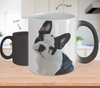 French Bulldog Color Changing Mugs & Coffee Cups - French Bulldog Coffee Mugs - TeeAmazing
