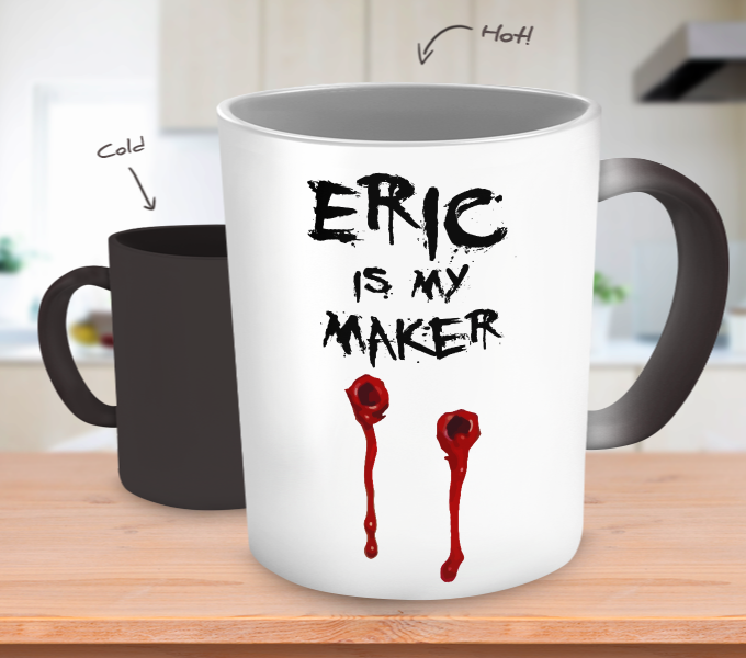 Eric Is My Maker Color Changing Mugs & Coffee Cups - True Blood Coffee Mugs 19
