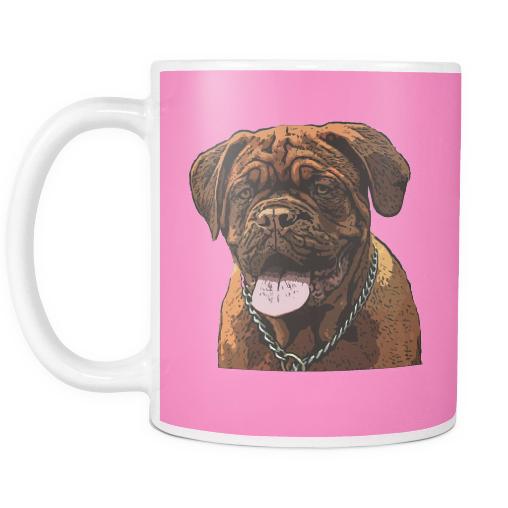 Dogues de Bordeaux Dog Mugs & Coffee Cups - Dogues de Bordeaux Coffee Mugs - TeeAmazing - 8