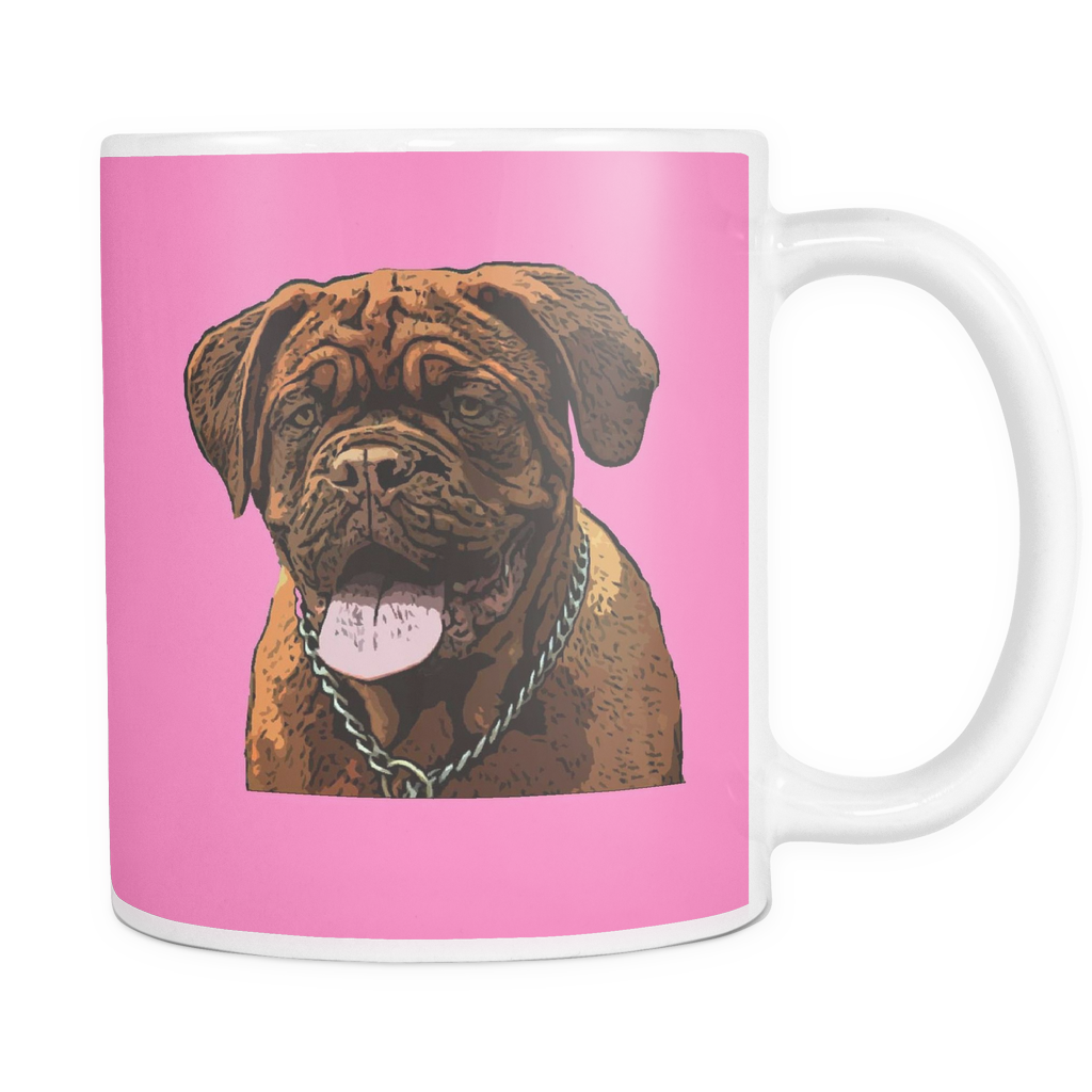 Dogues de Bordeaux Dog Mugs & Coffee Cups - Dogues de Bordeaux Coffee Mugs - TeeAmazing - 7