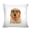 Golden Retriever Dog Pillow Cover - Golden Retriever Accessories - TeeAmazing - 1