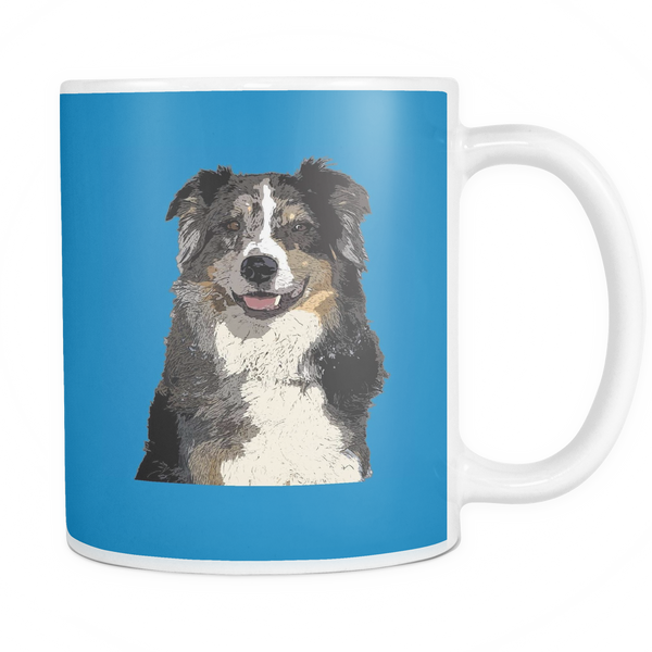 Australian Shepherd Dog Mugs & Coffee Cups - Australian Shepherd Coffee Mugs - TeeAmazing - 5