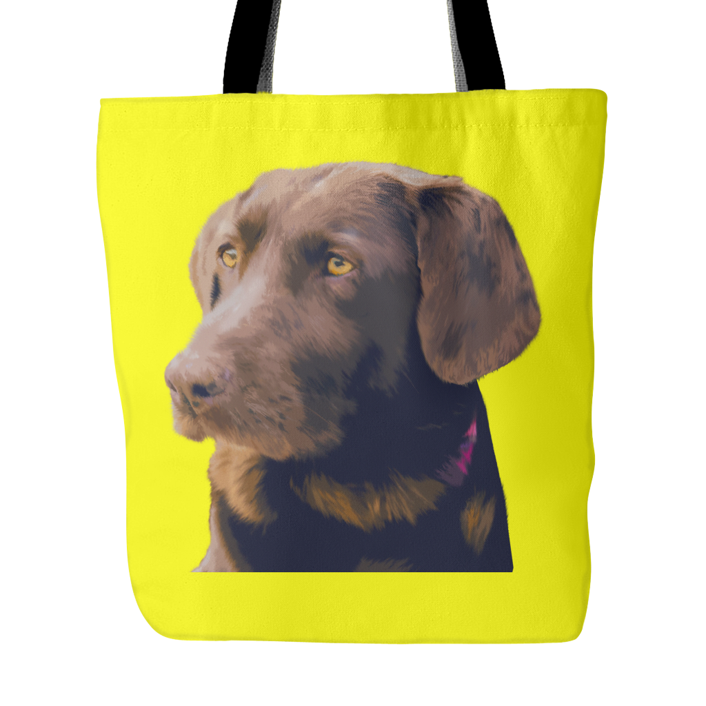 Labrador Retriever Dog Tote Bags - Labrador Retriever Bags - TeeAmazing