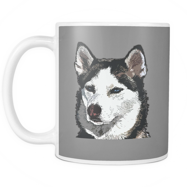Siberian Husky Dog Mugs & Coffee Cups - Siberian Husky Coffee Mugs - TeeAmazing - 4