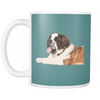 St. Bernard Dog Mugs & Coffee Cups - St. Bernard Coffee Mugs - TeeAmazing - 6