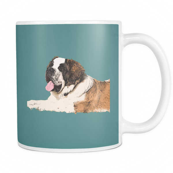 St. Bernard Dog Mugs & Coffee Cups - St. Bernard Coffee Mugs - TeeAmazing - 5