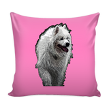 Samoyed Dog Pillow Cover - Samoyed Accessories - TeeAmazing - 4